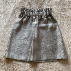 H&M Women's Ruffle-Trimmed Skirt Size 2